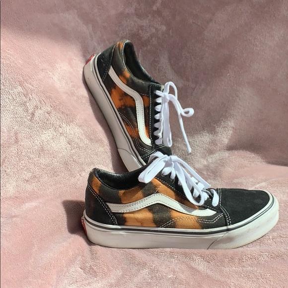 Vans Shoes | Vans Black And Bleached